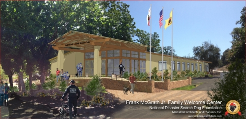 NTC Welcome Center rendering