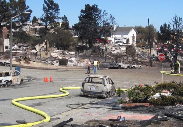 Gas explosion in San Bruno
