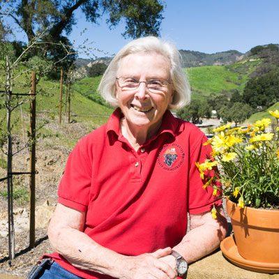 SDF Founder & Board Secretary Wilma Melville