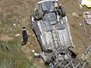 Tehachapi car wreck