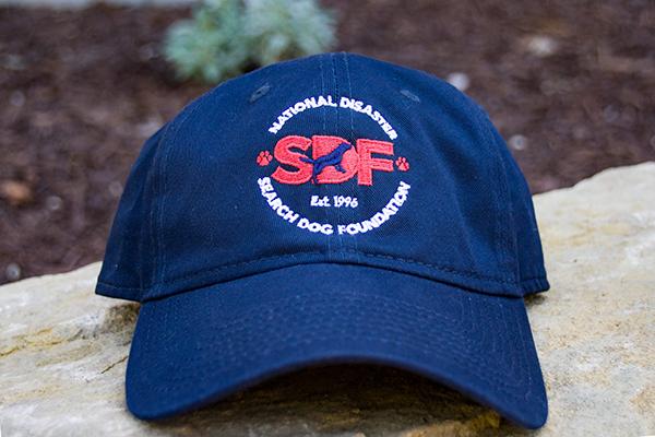 NEW SDF Logo Baseball Cap - National Disaster Search Dog Foundation bf455c2f2ba
