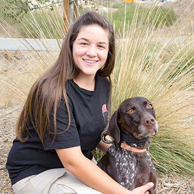 SDF Canine Care Specialist Krista Perez